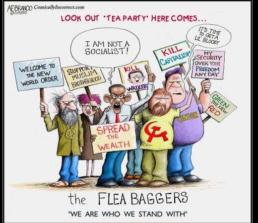 HDR 125:  Tea Party versus Flee Party