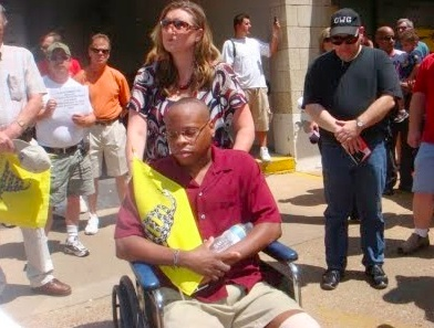 Remember Kenneth Gladney?  He was assaulted by SEIU thugs in 2009.