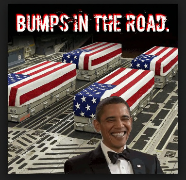 Remember....Obama was campaigning for reelection with a big Vegas fundraiser Sept 12.  He couldn't be bothered with any 'bumps in the road'